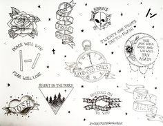 Image result for twenty one pilots tattoo