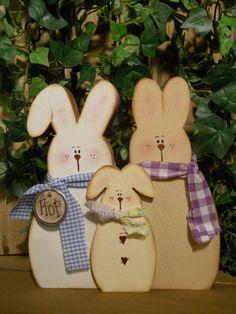 Three bunnies SFOFG by Rosiedais on Etsy, $10.00