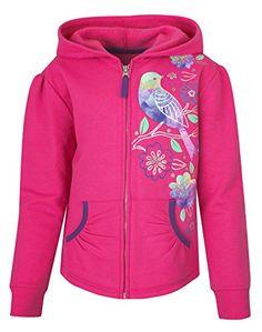 Hanes Girls Dream Floral Full-Zip Hoodie