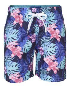 Boys Swimshort 'Leaves' | Laura Luchtman // Kukka for WE Fashion