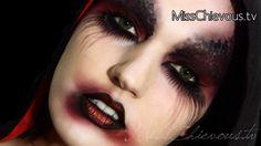 MissChievous.tv: Demon Halloween Makeup