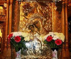 Icoana Maicii Domnului cu Pruncul, de la Mănăstirea Hadâmbu, judeţul Iaşi.   Icoana Maicii Domnului cu Pruncul de la Mănăstirea Hadâmbu a fost pictată în anul 1938 de preotul Octavian Zmău din Roman. Ea a fost donată Mănăstirii Hadâmbu de ieromonahul Iov Mazilu, stareţul aşezământului.