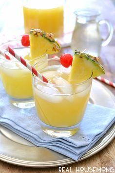 Pineapple Spritzers - Real HousemomsPineapple Spritzers - Real Housemoms