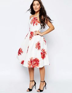 ASOS+Full+Midi+Dress+in+Bright+Floral+Print