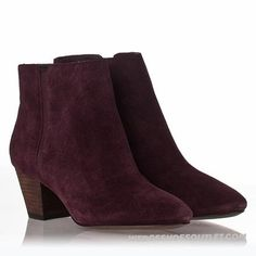 ASH Boots Women's Prune Suede Special