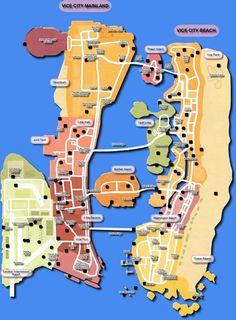 Najlepsze obrazy na tablicy gta vice city (10) | City maps, Gta vi i ...