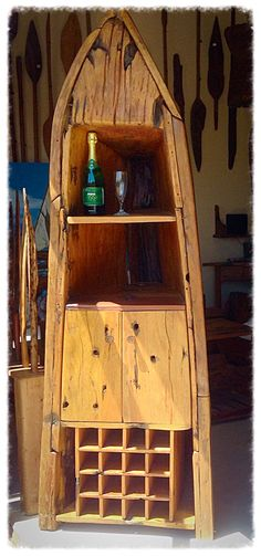 Dhow Sailing Boat Cabinet