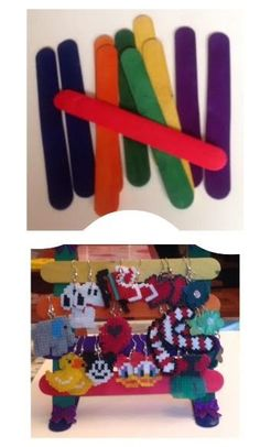 Cómo hacer joyero para pendientes con palos de #helados #manualidades #crafts #howto #diy