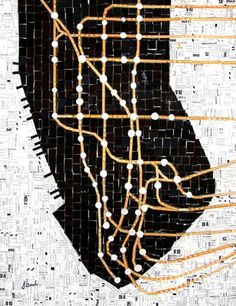 The New York subway map