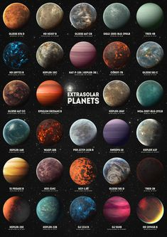 Exoplanets by Zapista OU Exoplanets by Zapista OU Jesika Albana jesimax PLANETEN 038 Cosmos exoplanets extrasolar planets planets astronomy space nebula hubble kepler spacecraft nbsp hellip Space Solar System, Solar System Planets, Planets Wallpaper, Wallpaper Space, Galaxy Wallpaper, Earth And Space Science, Earth From Space, Life Science, Space Planets