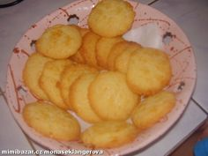 Máslové sušenky Cake Recipes, Snack Recipes, Snacks, Ham, Food And Drink, Chips, Sweets, Cookies, Baking
