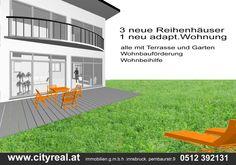 Reihenhäuser - Neubau Axams  #signage #cityreal #ad