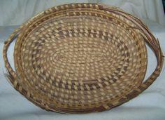 Vintage Classic Charleston Oval Pinestraw Basket by AlloftheAbove, $15.00