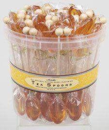 50 Individually Wrapped Clover Honey Flavored Tea Spoons - Flavored Tea Spoons - Roses And Teacups Chocolates, Honey Spoons, Latte, Tea Party Favors, Party Drinks, Cinnamon Tea, Tapas, Tea Party Bridal Shower, Bridal Showers
