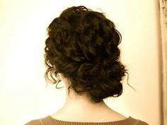 """Girls understand the struggle of styling natural curly hair. Even washing it is a nightmare sometimes, when it just doesn'tRead More Bun hairstyles for Curly hair"""" Curly Bun Hairstyles, Pretty Hairstyles, Saree Hairstyles, Wedding Hairstyles For Curly Hair, Relaxed Hairstyles, 1950s Hairstyles, Female Hairstyles, Curly Haircuts, Ethnic Hairstyles"""