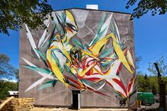 Urban Forms '15 is starting its mural season with Shida and his newest artwork on the streets of Lodz in Poland.