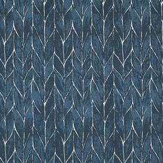 Clay McLaurin Studio Rope_Indigo Wallpaper Buy Rope, Striped Walls, Striped Wallpaper, Bathroom Wallpaper