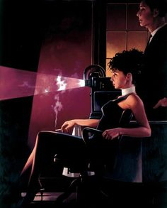 Jack Vettriano - my favourite artist! His paintings are sensual, romantic and somehow speaks of life in a 'old fashioned' kind of way.