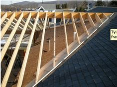 Attaching Porch Roof to Existing Gable Roof Back Patio, Patio Roof, Backyard Patio, Patio Wall, Pergola Roof, Diy Patio, Design Patio, Roof Design, Garage Design