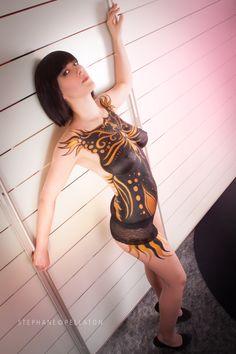 Photographer : Stephane Pellaton Bodypainter : Marine Ishigo Model : Melanie