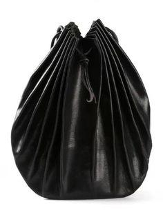 Medium Pleated Hand Bag