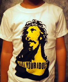 Kill Your Idols Rock Axl Rose Guns N Roses band Kids t shirt size 5-6 years #handmade #Everyday
