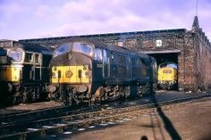 North British Locomotive Compay Class21 D6105 early morning at Eastfield c1969. Delivered on 17th March 1959. Withdrawn on 8th June 1968 and cut up at McWilliams of Shettleston .
