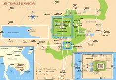 Angkor Wat map