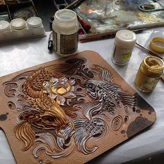 Art carving studio on MuzylevStyle skin | VK