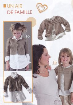 Ideal tricot 41 --- stick knitting children's clothing - Basil - Basil's blog