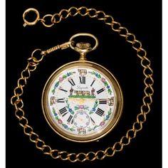 daea27be2 Antiguo reloj de bolsillo, suizo, de la marca lagonda y funcionando