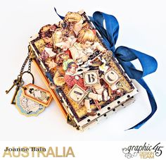 Mini-Album-Planner,-ABC-Primer,-By-Joanne-Bain,-Product-by-Graphic-45,-Photo-1