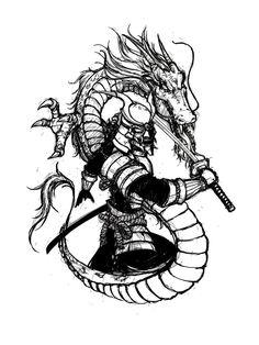 samurai_tattoo_request_by_luiz_san-d63mja2.jpg 774×1.032 píxeles