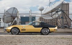 1969 'Astrovette' designed exclusively for the crew of Apollo 12. The logo on Alan Bean's Stingray says 'LMP' which indicates his position as Lunar Module Pilot.