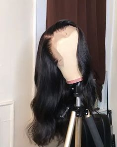 JAHUI Hair Pre Plucked 360 Lace Frontal Wigs with Baby Hair Density Body Wave Brazilian Virgin Hair 360 Lace Wigs for Black with 180 density,Free Part) Baddie Hairstyles, Weave Hairstyles, Curly Hair Styles, Natural Hair Styles, Lace Wigs, Hair Laid, Lace Hair, Lace Frontal, Body Wave