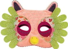 Moulin Roty Suzette the owl Mask `One size Details : Velvet, Felt Length : 22 cm Height : 16 cm http://www.comparestoreprices.co.uk/january-2017-7/moulin-roty-suzette-the-owl-mask-one-size.asp