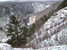 Grand Canyon of Pennsylvania - Pine Creek Gorge in Wellsboro, PA