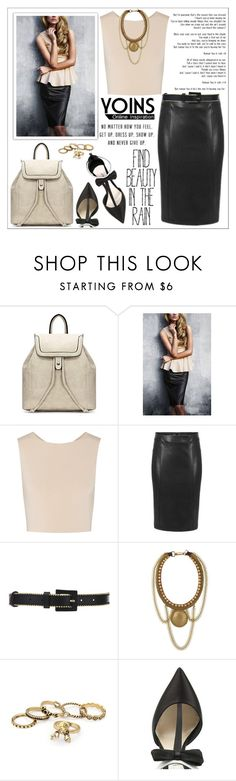"""Style with Yoins 2"" by lookat ❤ liked on Polyvore featuring Alice + Olivia, Oscar de la Renta, Fiona Paxton, Olgana, yoins, yoinscollection and loveyoins"