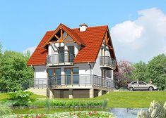 Дом односемейный, одноэтажный с жилой мансардой, подвалом - LK&371