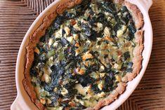"""Swiss chard and feta pie (""""chardikopita"""")"""