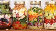 Jarre à salade : le bocal minceur à emporter partout, rester svelte, perdre une taille, taille fine, ventre plat, cuisses sans cellulite.