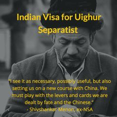 India's 'Necessary' Message to China on the Uighur is a Gamble With an Uncertain Payoff. Devirupa Mitra writes in The Wire.