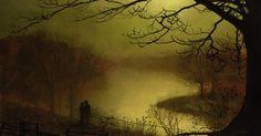 Roundhay Lake http://www.artrenewal.org/artwork/256/256/40057/Grimshaw_John_Atkinson_Roundhay_Lake_1877_Oil_on_Board-large.jpg