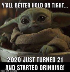 Yoda Funny, Yoda Meme, Funny Relatable Memes, Funny Posts, Cartoon Jokes, Work Memes, Funny As Hell, Star Wars Humor, My Guy