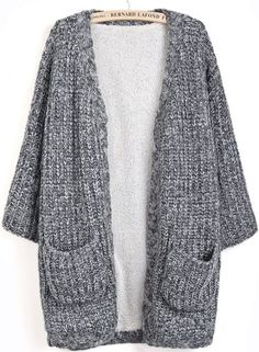 El Örgüsü Hırka Modelleri, Örnekleri ve Yapılışları In this article, we have explained the most beautiful hand knitted cardigan models and constructions for knitted cardigan enthusiasts. Take a look at the cardigans we offer, and you Long Cardigan Coat, Chunky Knit Cardigan, Loose Sweater, Grey Sweater, Tricot D'art, Raglan Pullover, Cardigan En Maille, Cardigan Fashion, Types Of Dresses