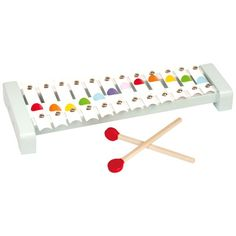 Janod Confetti Metal Xylophone 18Mths+