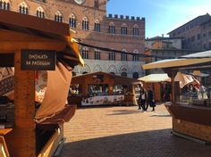 The annual Siena Chocolate Market, happens every spring. #Busketlist