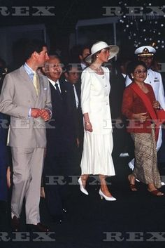 NOVEMBER 3 1989 Diana, Princess of Wales, at the Presidential Palace during the first day of her official visit to Indonesia