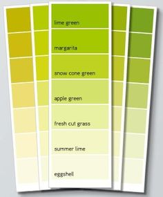 Lime Le Green Color Palette For Wedding Chartreuse Colour