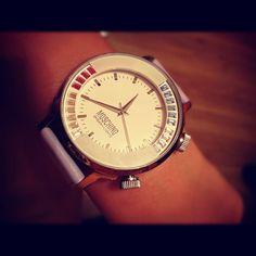 Accessories: Moschino watch. Photo by julia_bryntceva